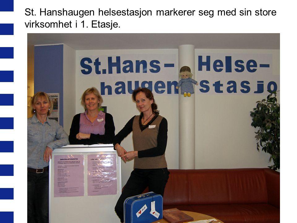 St. Hanshaugen helsestasjon markerer seg med sin store virksomhet i 1