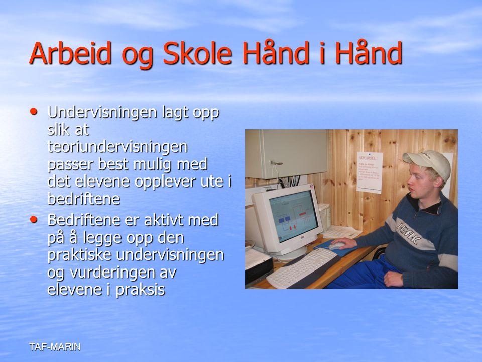Arbeid og Skole Hånd i Hånd