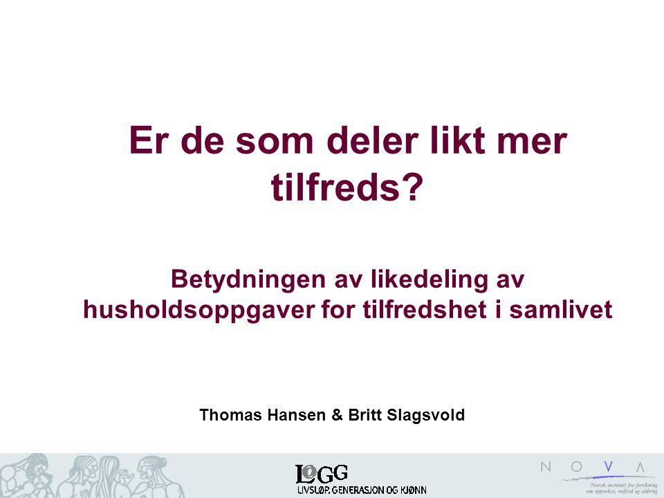 Thomas Hansen & Britt Slagsvold