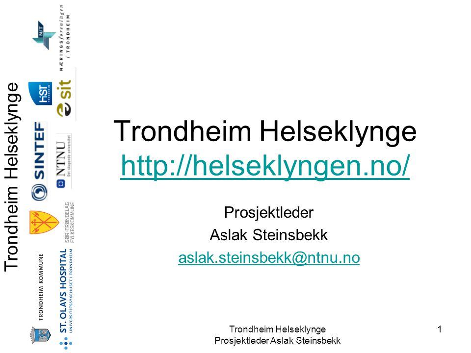 Trondheim Helseklynge http://helseklyngen.no/
