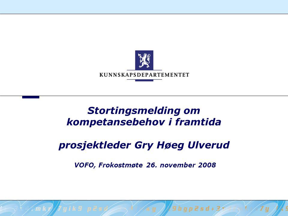 VOFO, Frokostmøte 26. november 2008