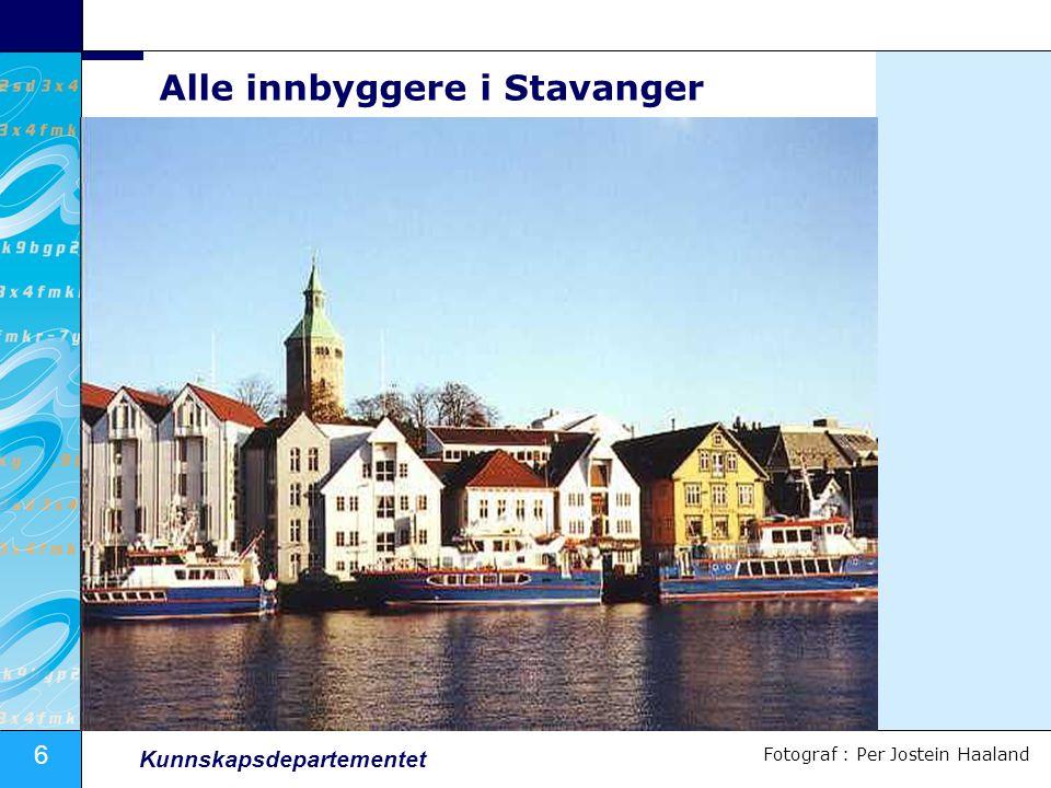 Alle innbyggere i Stavanger