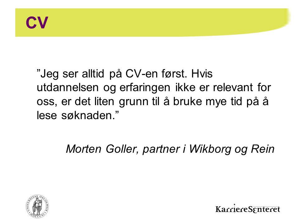 CV Morten Goller, partner i Wikborg og Rein