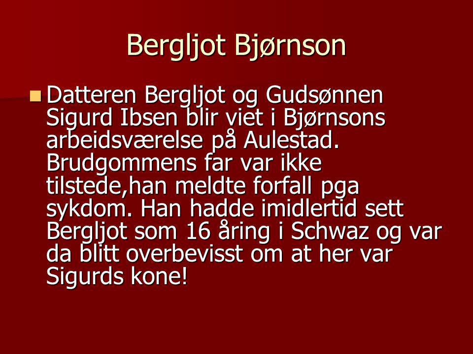Bergljot Bjørnson