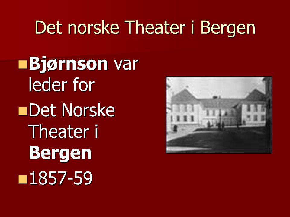 Det norske Theater i Bergen