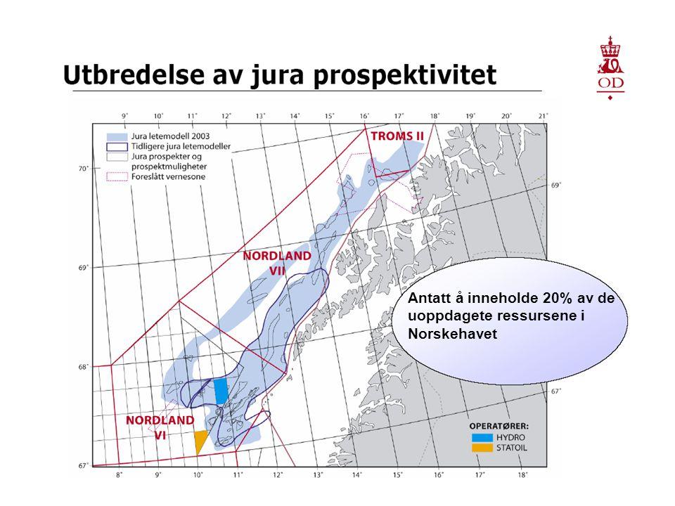 Antatt å inneholde 20% av de uoppdagete ressursene i Norskehavet
