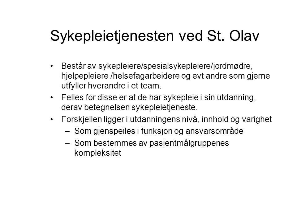 Sykepleietjenesten ved St. Olav