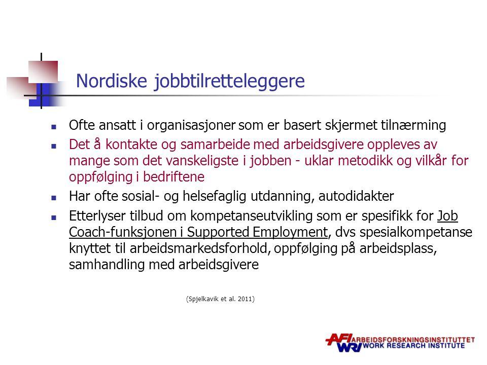 Nordiske jobbtilretteleggere