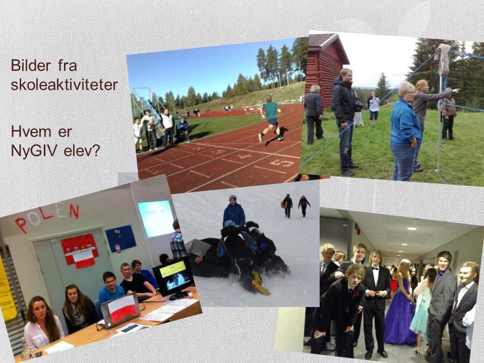 Bilder fra skoleaktiviteter