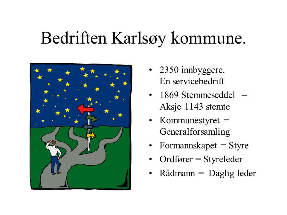 Bedriften Karlsøy kommune.
