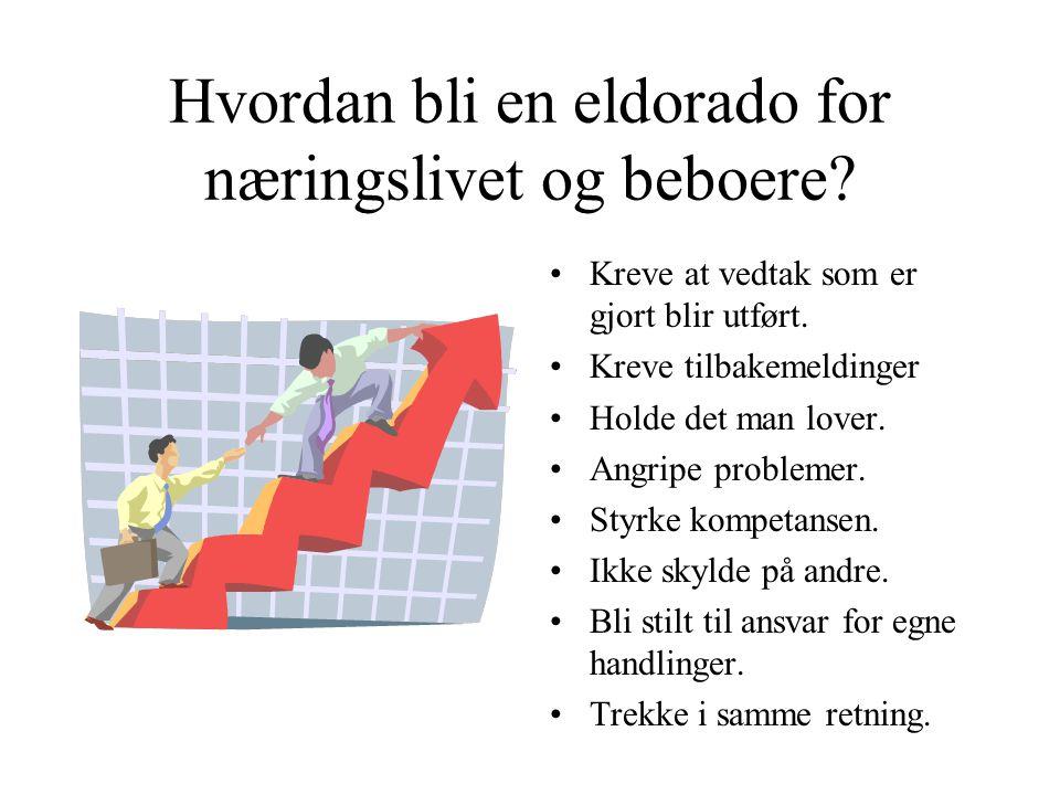 Hvordan bli en eldorado for næringslivet og beboere