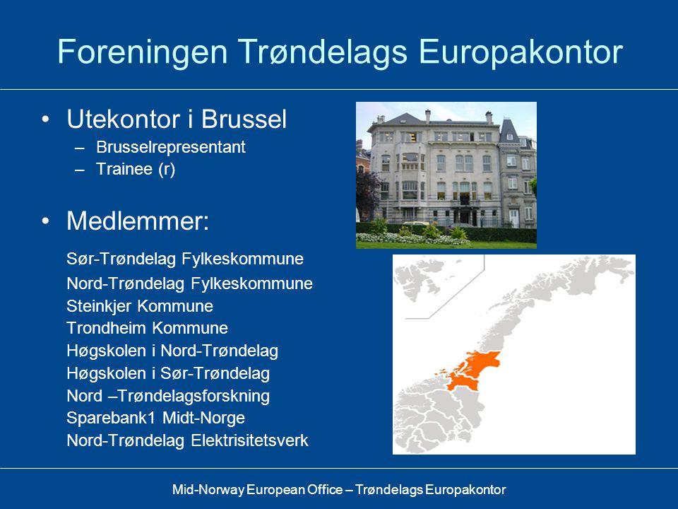 Foreningen Trøndelags Europakontor