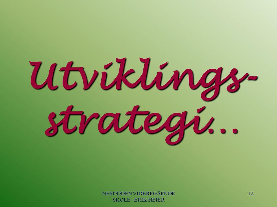 Utviklings-strategi…