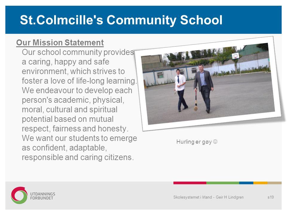 St.Colmcille s Community School