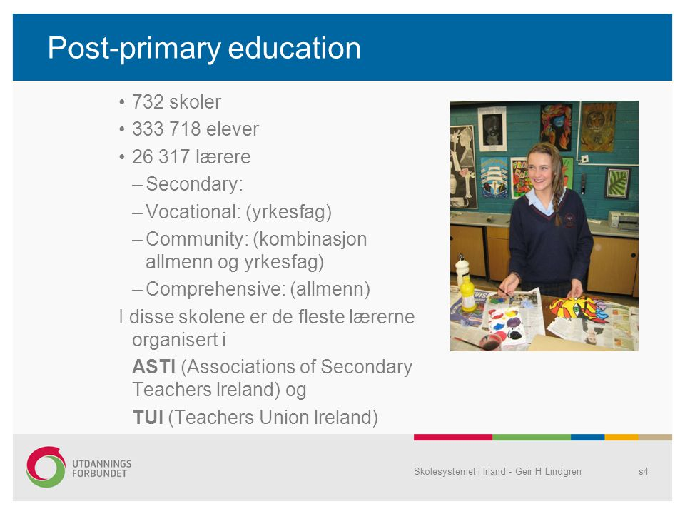 Post-primary education