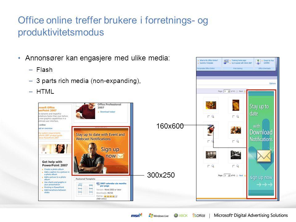 Office online treffer brukere i forretnings- og produktivitetsmodus