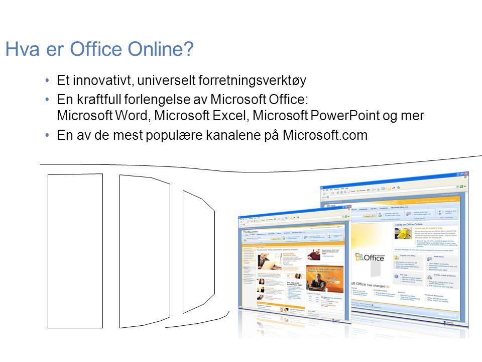 Hva er Office Online Et innovativt, universelt forretningsverktøy