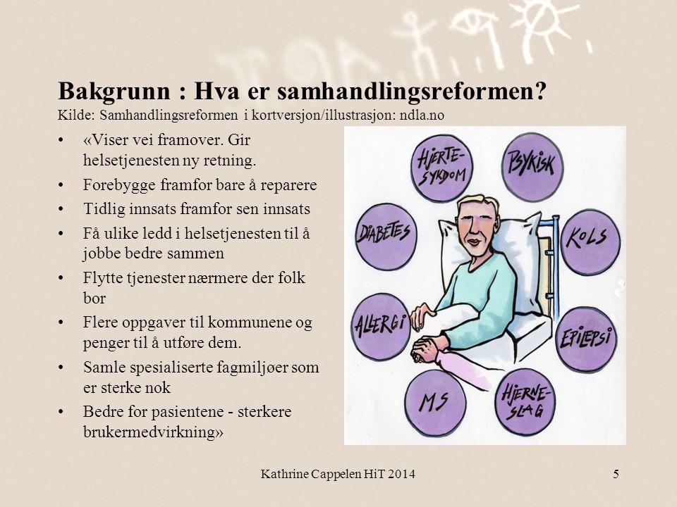 Bakgrunn : Hva er samhandlingsreformen