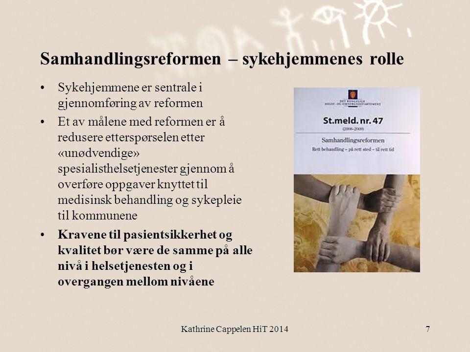 Samhandlingsreformen – sykehjemmenes rolle