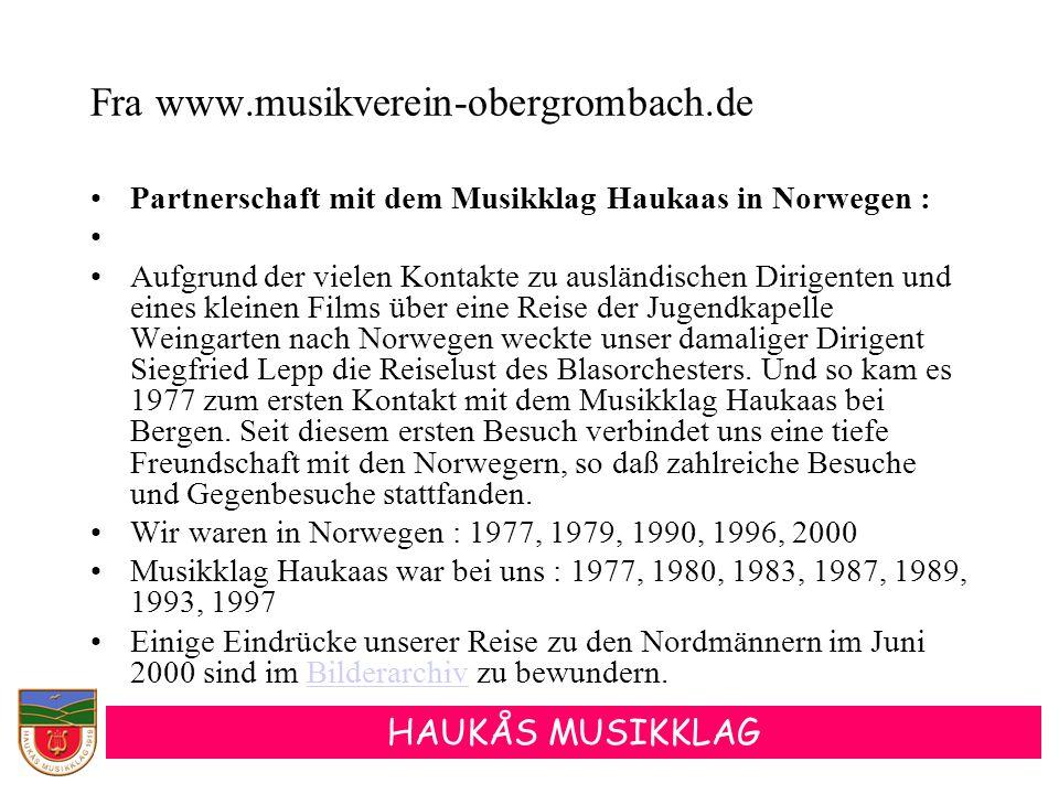 Fra www.musikverein-obergrombach.de