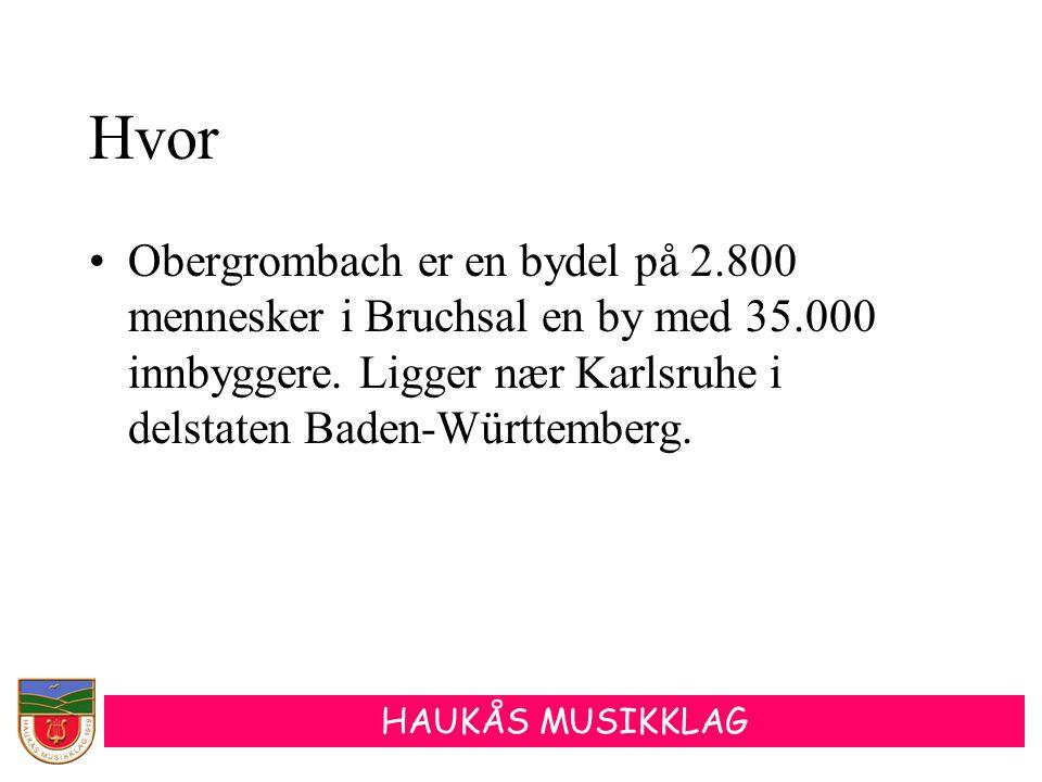 Hvor Obergrombach er en bydel på 2.800 mennesker i Bruchsal en by med 35.000 innbyggere.