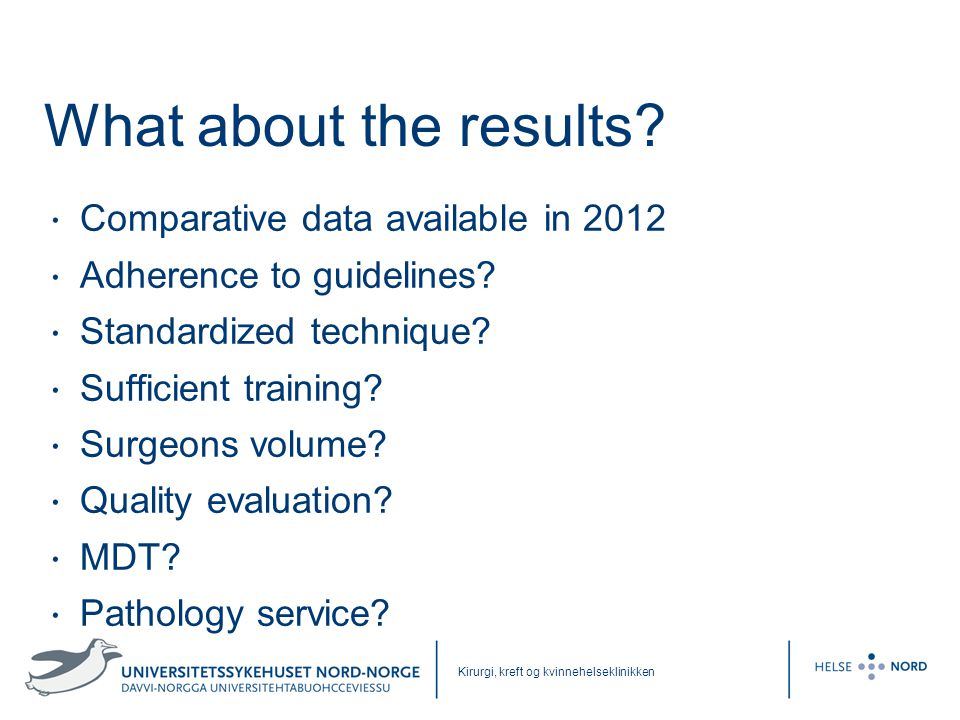 What about the results Comparative data available in 2012