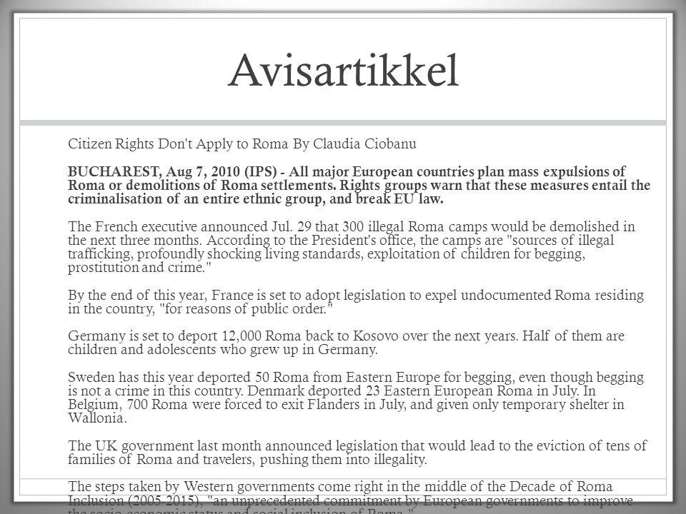 Avisartikkel http://ipsnews.net/news.asp idnews=52415