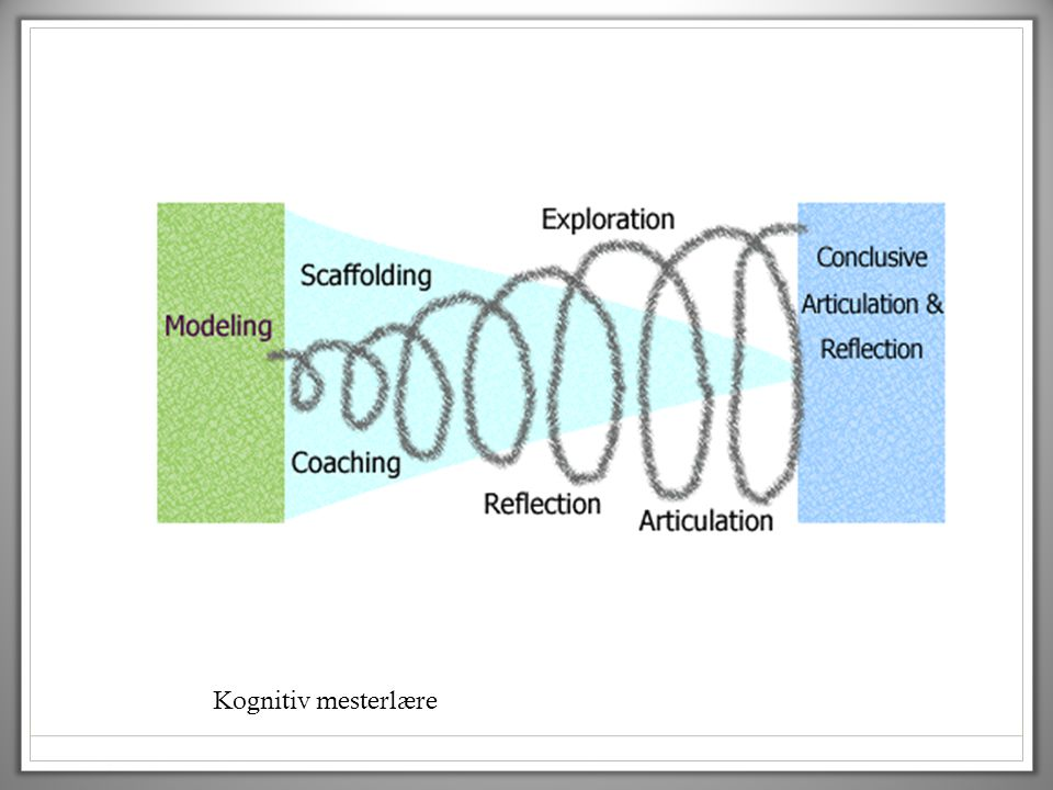 Kognitiv mesterlære