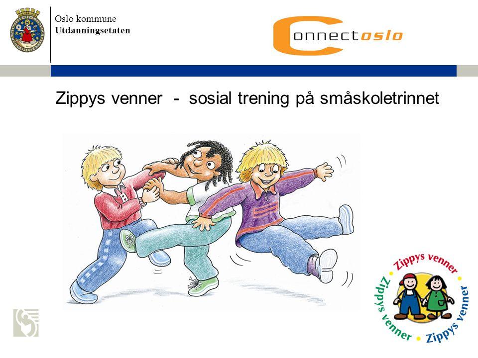Zippys venner - sosial trening på småskoletrinnet