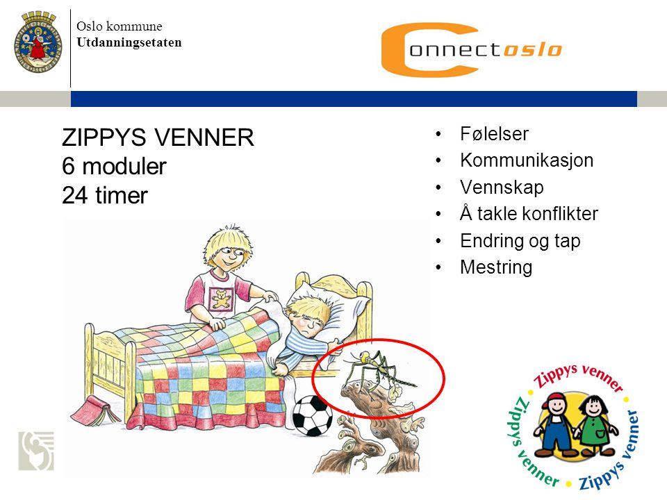 ZIPPYS VENNER 6 moduler 24 timer