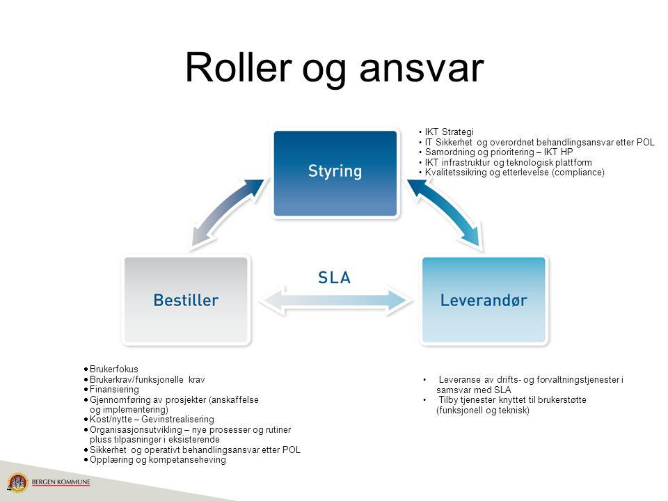 Roller og ansvar IKT Strategi