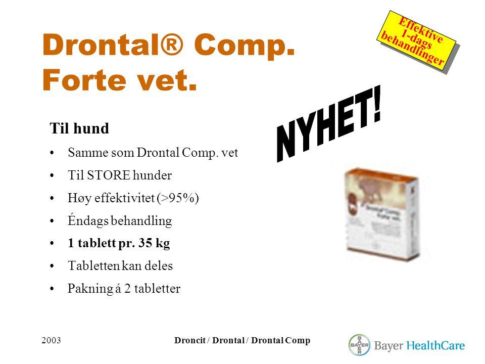 Drontal® Comp. Forte vet.