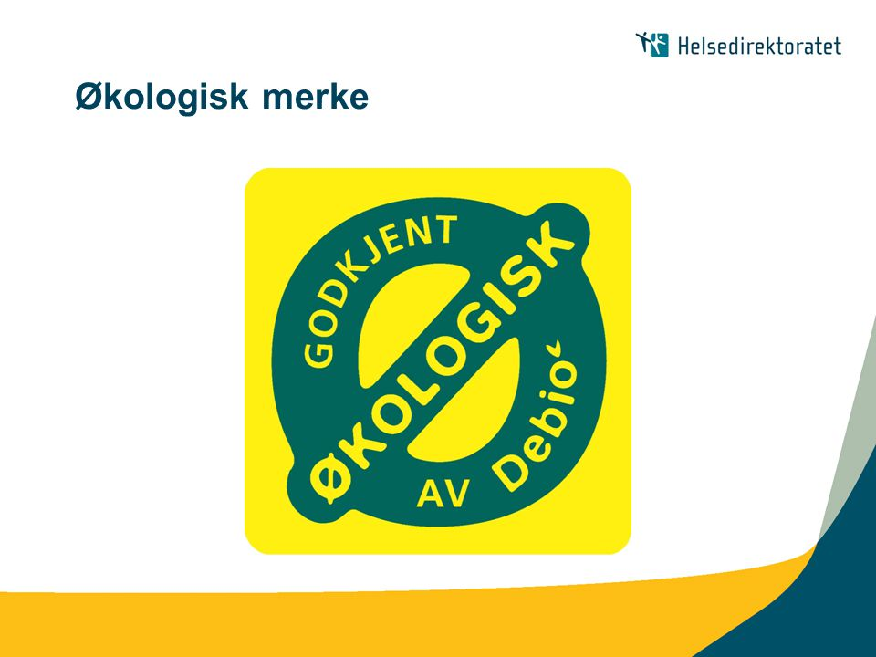 Økologisk merke