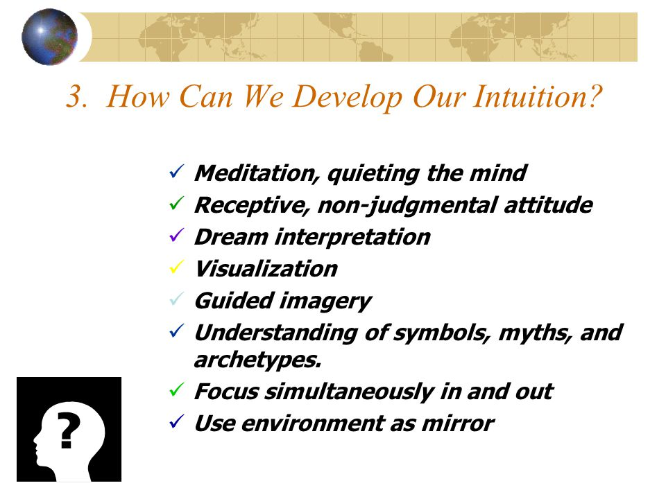 3. How Can We Develop Our Intuition