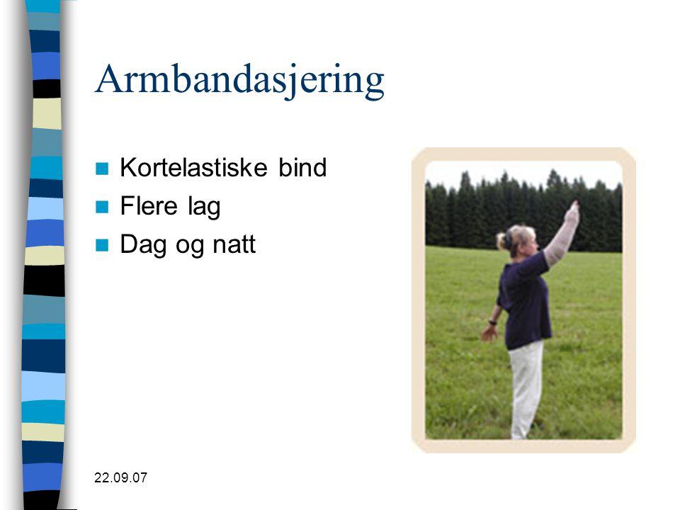Armbandasjering Kortelastiske bind Flere lag Dag og natt 22.09.07