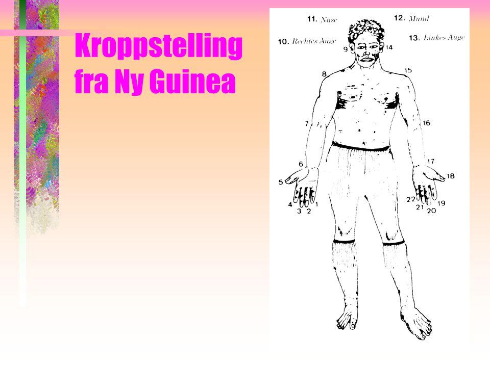 Kroppstelling fra Ny Guinea