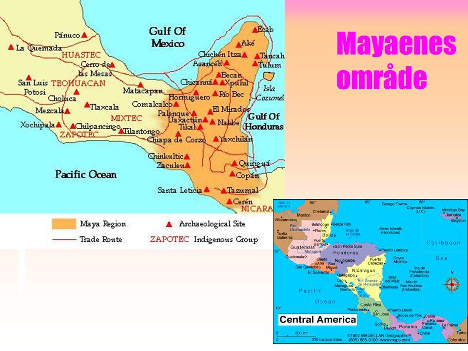 Mayaenes område