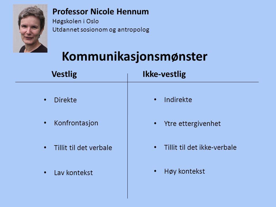 Kommunikasjonsmønster