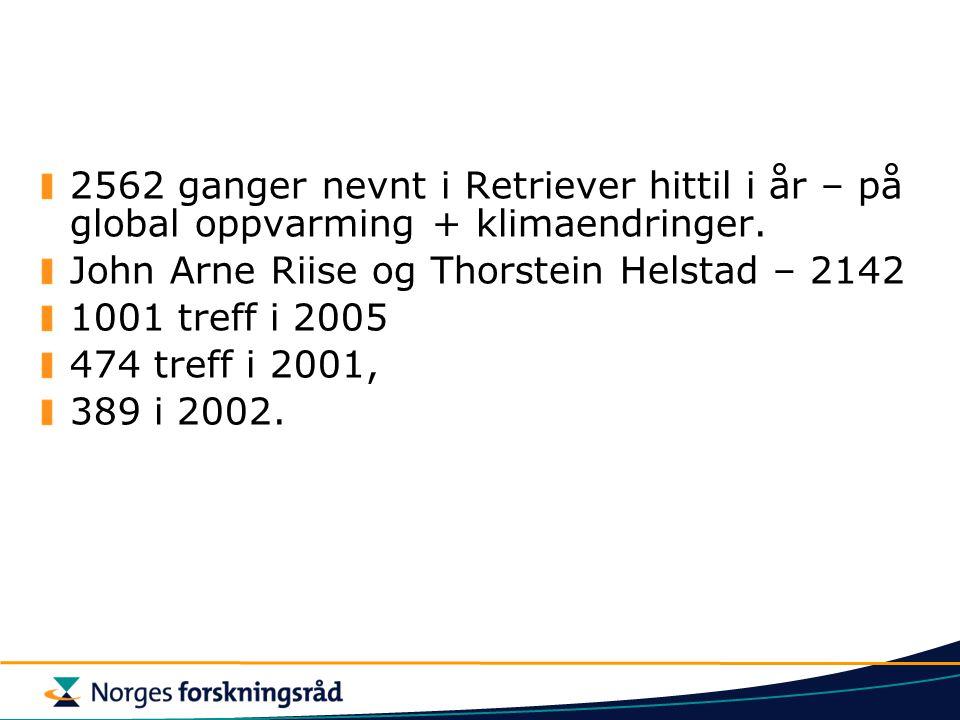 John Arne Riise og Thorstein Helstad – 2142 1001 treff i 2005