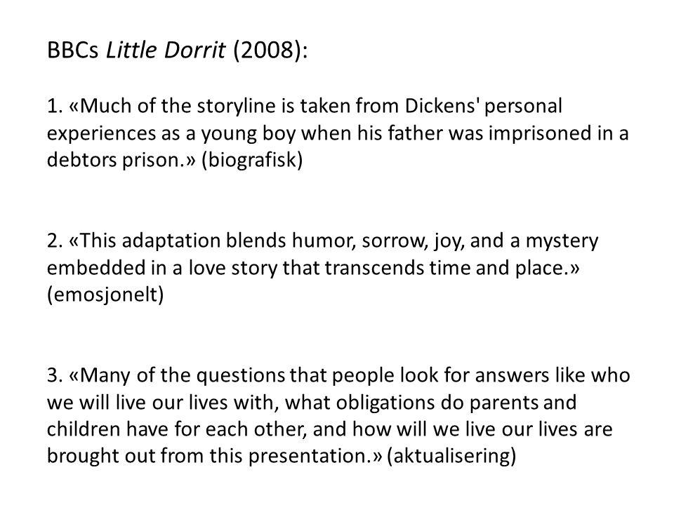 BBCs Little Dorrit (2008):