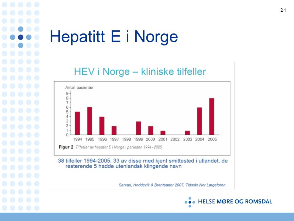 Hepatitt E i Norge