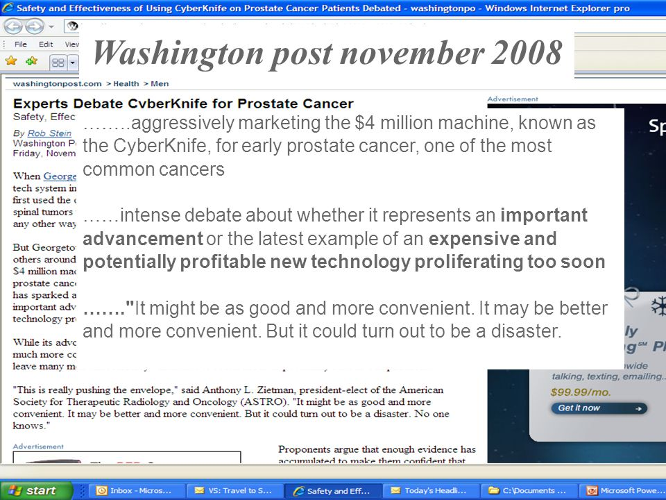 Washington post november 2008