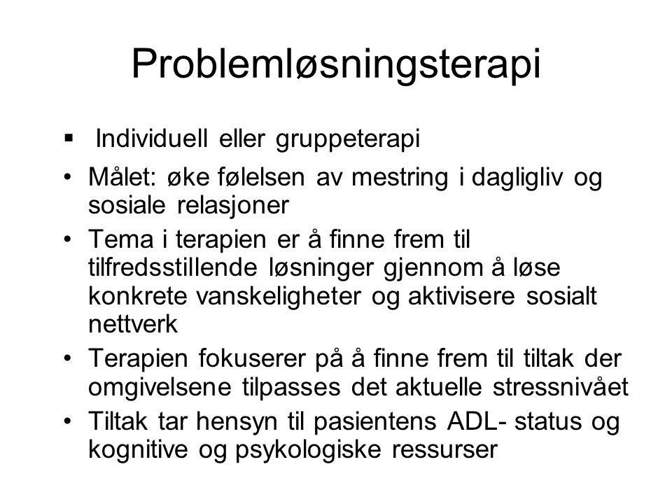 Problemløsningsterapi