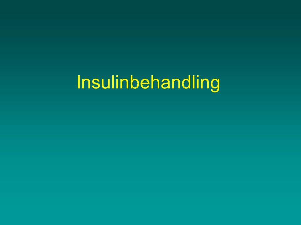 Insulinbehandling