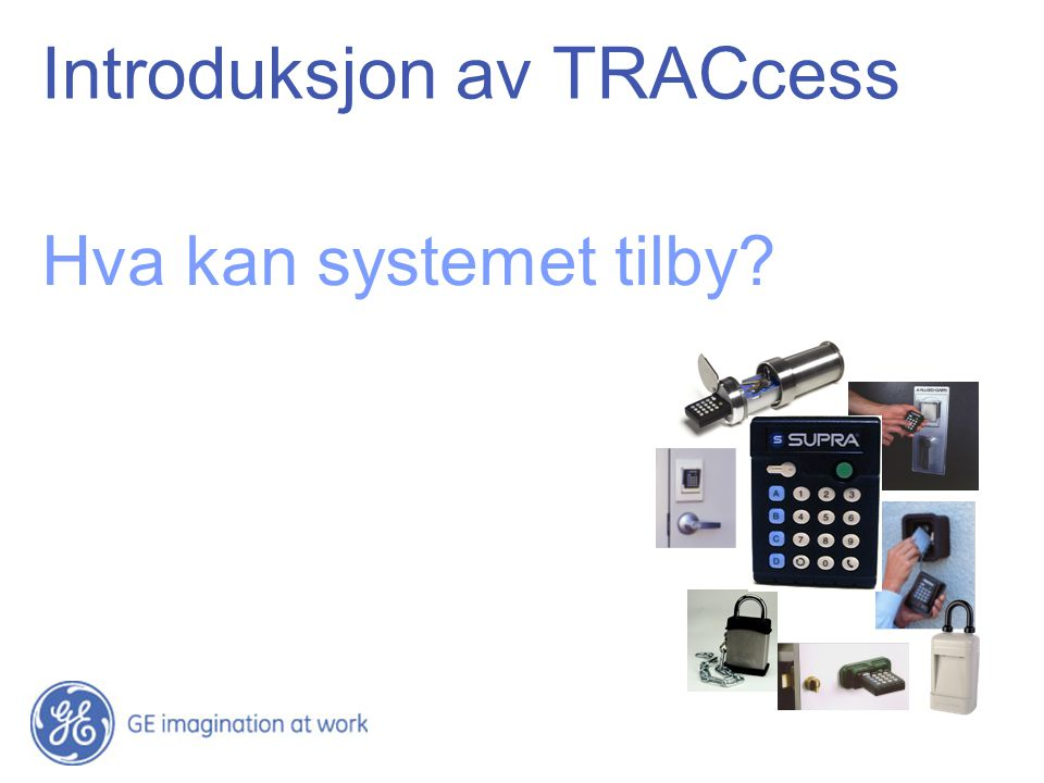 Introduksjon av TRACcess