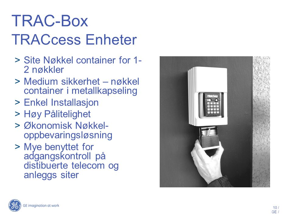 TRAC-Box TRACcess Enheter