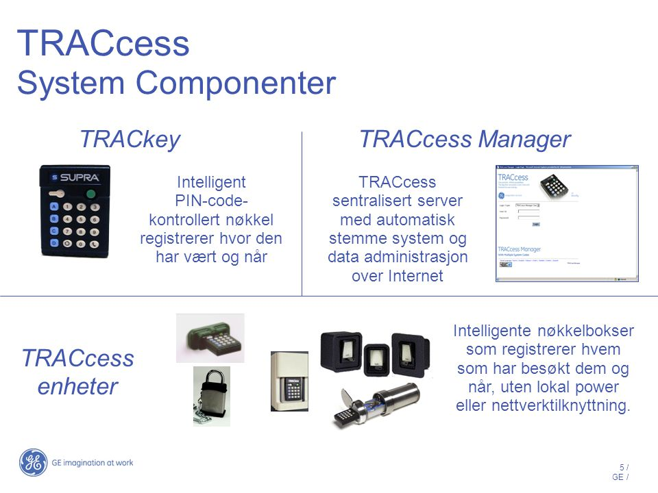 TRACcess System Componenter