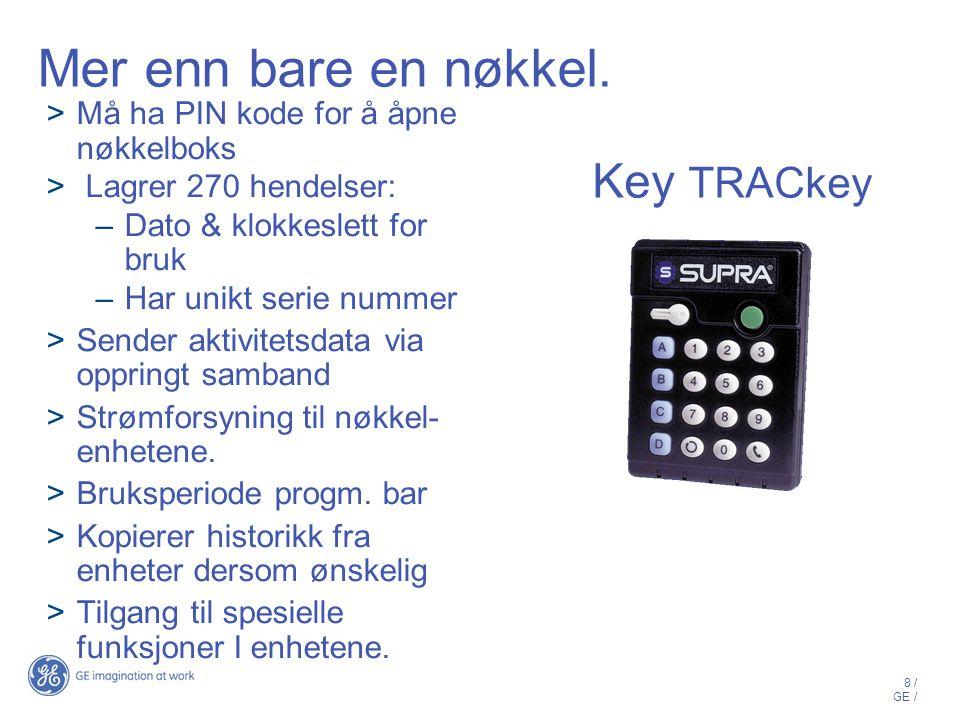 Mer enn bare en nøkkel. Key TRACkey