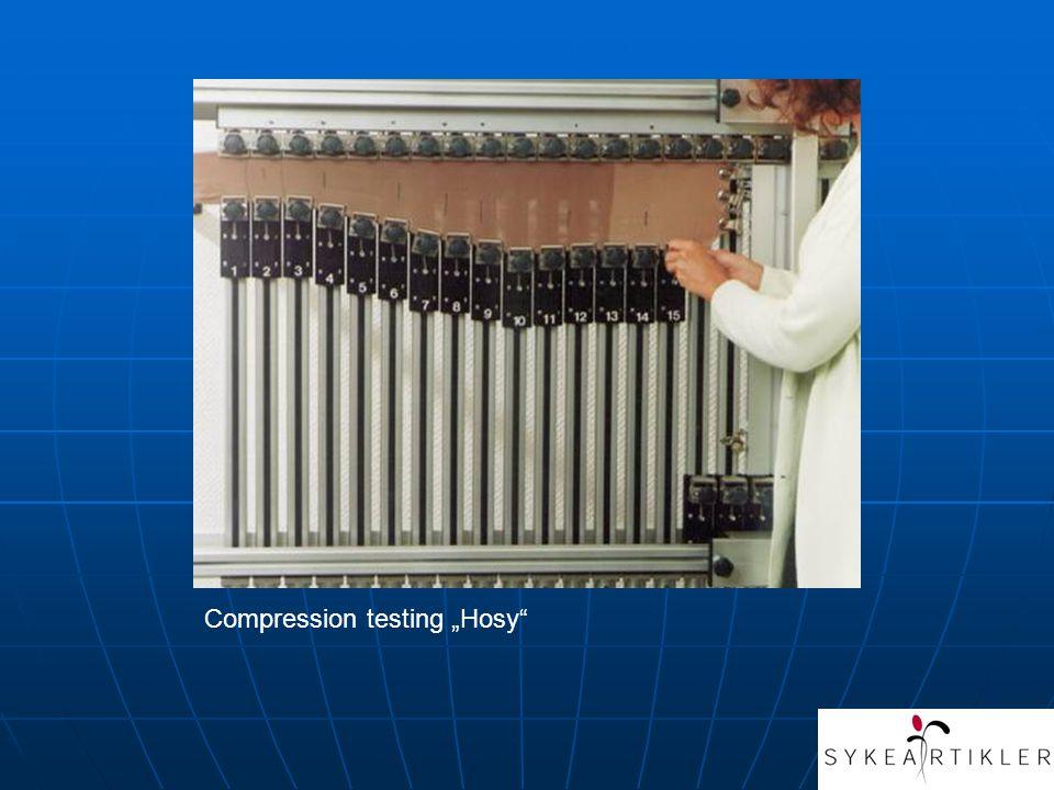 """Compression testing """"Hosy"""