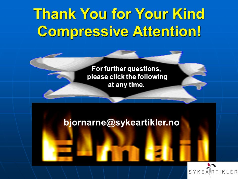 Thank You for Your Kind Compressive Attention!